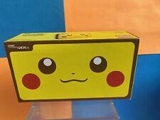Nintendo 2DS XL Pikachu Edition Collectors Console Mint