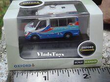 Oxford 1:148 N Gauge Whitby Mondial Mercedes-Benz Sprinter Ice Cream Van NWM002