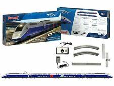 """Jouef TGV Duplex SNCF """"Carmillion"""" H0 1:87 Coffret de Départ - Grise/Bleue (HJ1061)"""