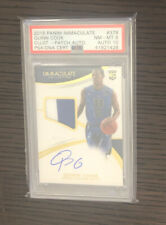 2015 Immaculate QUINN COOK #379 RC SP 89/99 Rookie Patch On-Card Auto PSA 8/10
