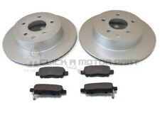FOR NISSAN QASHQAI+2 1.5 1.6 2.0 dci 07-15 REAR VENTED BRAKE DISCS & PADS SET