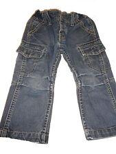 H & M tolle Jeans Hose Fit Relaxed Gr. 98 mit trendigen Taschen !!