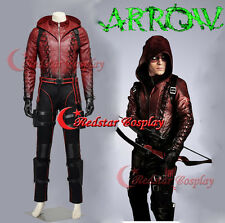 Green Arrow season 3 Arsenal Roy Jacket Pants Arrow Bag Belt Cosplay Costume