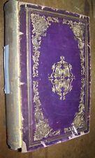 1856 ANTIQUE LADIES REPOSITORY BOUND YEAR MAGAZINE LITERATURE RELIGION BOOK