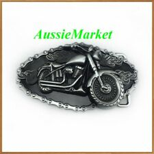 1 x belt buckle mens ladies motorbike motorcycle bikie biker motor bike chain