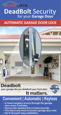 New SureLock Automatic Garage Door Lock, Secure your Home with DeadBolt Security