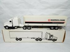 Ingersoll Rand Kenworth Semi and Van Trailer Diecast 1:64 ERTL 0553 Model Rare