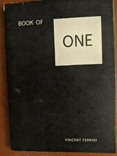 Book of One by Vincent Ferrini (1960 inscribed)