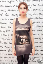 Joy Division Closer Ian Curtis Indie UK WOMEN T-SHIRT DRESS Tank TOP Size S M
