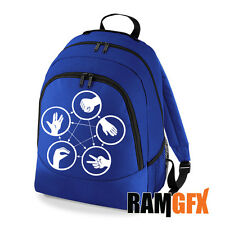 BNWT BIG BANG THEORY ROCK PAPER SCISSORS COLLEGE BACKPACK RUCKSACK SCHOOL BAG