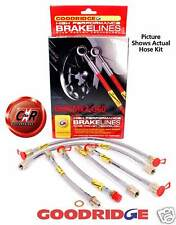 Golf Mk2 G60 Goodridge Braided Brake Hose Line Kit: G60 SVW0505-6P 6 Line Kit VW