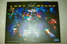 Sega Lost in Space Pinball Machine Translite   NOS/Unused    Free Shipping
