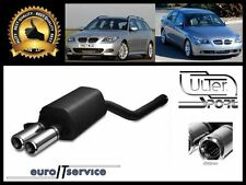 SILENCIEUX POT D'ECHAPPEMENT BMW 5 E60  E61 2003-2007 2008 2009 2010 TIP 2x80