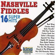 Nashville Fiddles - 16 Super Hits [New CD]