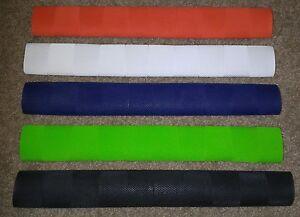 5x CHEVRON Cricket Bat Grips - RED, BLACK, NAVY, WHITE & FLURO GREEN - Oz Stock