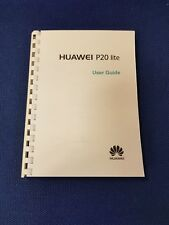 HUAWEI P20 LITE FULLY PRINTED INSTRUCTION MANUAL USER GUIDE 128 PAGES A4