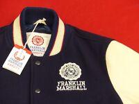 NEU*FRANKLIN  MARSHALL VASITY CASUAL COLLEGE BASEBALL JACKE*VINTAGE*GR: L*NEU