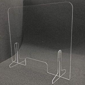 Thekenaufsatz Thekenaufsteller Spuckschutz 95cm breit 65cm hoch Acrylglas