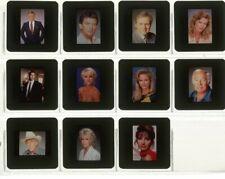 BARBARA EDEN PATRICK DUFFY LARRY HAGMAN DALLAS Set 11 Color Slide Transparencies