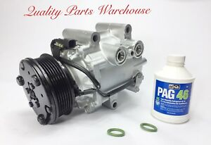 CHEVY EQUINOX 3.4L 2005 USA REMANUFACTURED A/C COMPRESSOR WITH ONE YEAR WRTY