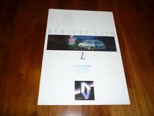 Renault Clio LIMITED Prospekt 12/1992