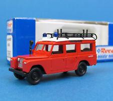 Roco H0 1381 LAND-ROVER Rosenbauer Rüstwagen Feuerwehr Geländewagen OVP HO 1:87