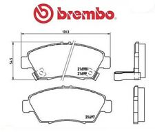 P28024 Kit pastiglie freno, Freno a disco (MARCA-BREMBO)