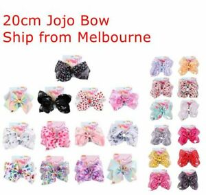 8inch 20cm Jojo Bows Jojo Siwa Bows Girls Fashion Hair Accessories Large Big