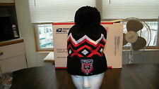 D.C. UNITED ADIDAS CUFFED KNIT HAT WITH POM, OFFICIAL MLS, NWT
