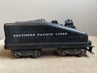 Vintage Marx Toys Coal Tender Train Car Unnumbered Southern Pacific Lines