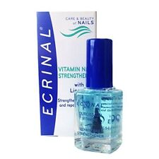 Nail Polish with Vitamins Strengthens Fortifies and Repairs 0.34 oz by Ecrinal