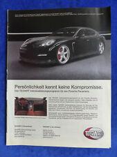 Techart Porsche Panamera - Werbeanzeige Reklame Advertisement 2009 __ (405