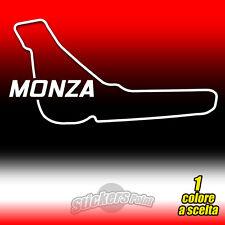 ADESIVO PVC CIRCUITO MONZA prespaziato auto moto sticker