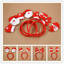 Cool Christmas Xmas Novelty Headband Kids Gloves/Reindeer/Santa Claus/Snowman
