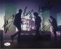The 1975 Band Autographed Signed 8x10 Photo Certified Authentic JSA COA AFTAL