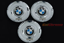 Genuine OEM BMW Individual Wheel Rims Center Caps 36137842859 Chrome 640 650 M6