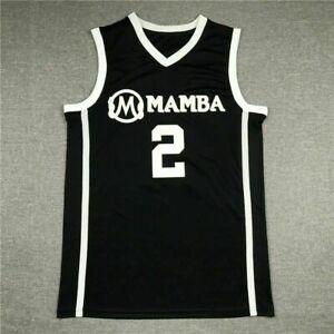 "Black Color ""GiGi"" Gianna Bryant #2 Mamba Basketball Stitched Jersey | S-2XL"