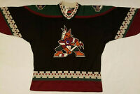 NEW w/ Tags Arizona Coyotes jersey  NWT Black Mens Large L PRO player proplayer