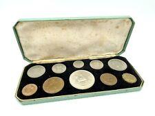 More details for elizabeth ii 1953 coronation shilling set