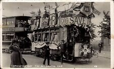 Doncaster. Coronation Day. The Decorated Tram. Card # 23.