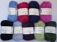 ROWAN Mohair Haze x 25g balls ~ Choose Colour ~ 70% Mohair, 30% Wool