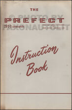 1953-1958 Ford Prefect Owners Manual Owner User Guide Instruction Book Original
