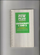 More details for pcw plus guide to locoscript 1 & 2 paperback manual by martin le poidevin (1992)
