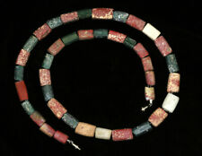 Ancient glass beads: ancient Roman glass necklace, 2-3 century