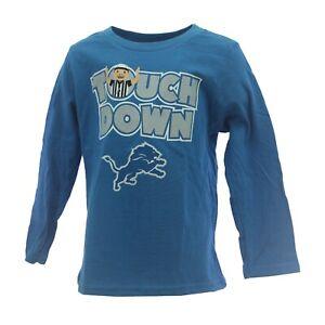 Detroit Lions Official NFL Apparel Baby Infant Toddler Size Long Sleeve Shirt