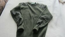 British army style jumper by champion acrylic size L 107cms 42 inch chest green
