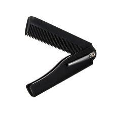Mens Womens Beauty Handmade Folding Pocket Clip Hair Moustache Beard Comb