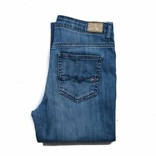 Tommy Hilfiger Women's Denim jeans size W27 L32 Blue Straight zip fly Authentic