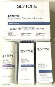 Glytone Enhance Brightening Sampler Glycolic Azelaic Acid Vitamin E