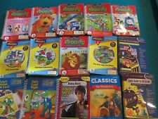 Leap Frog Leap Pad Interactive Books and Cartridges Lot of 39 Different